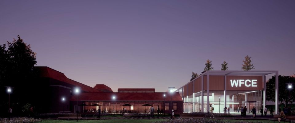 World Food Center by night